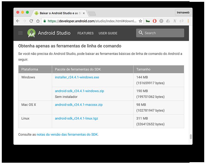 Aprenda a instalar o Cordova com Android no macOS - Blog da TreinaWeb