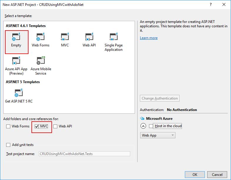 Operações CRUD no ASP NET MVC 5 com o ADO NET - Blog da TreinaWeb