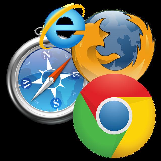Logo dos principais navegadores